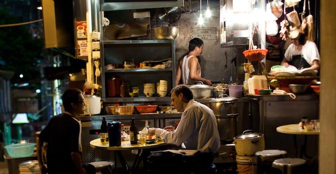 comer en hong kong