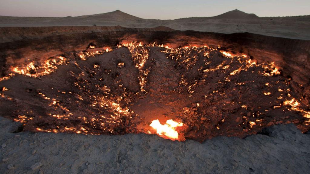 junto al crater