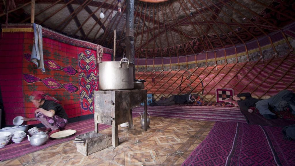 en la yurta
